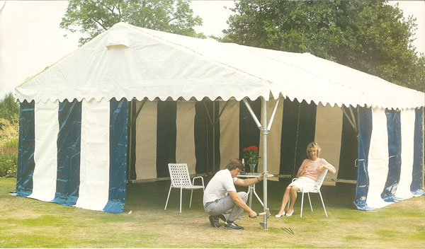 Alloy Framed Marquees