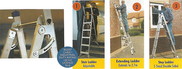 Versatile Step Ladder