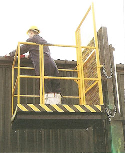 Fork Lift Access Platform