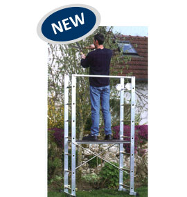 Aluminium Ladder Scaffold