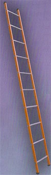 Orange Steel Ladders