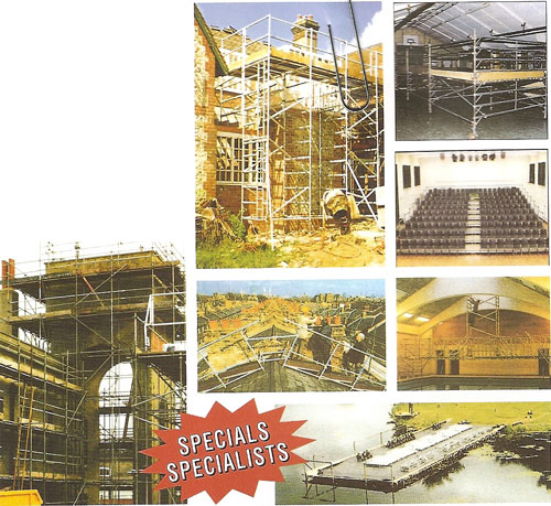 Contract Scaffolding Service