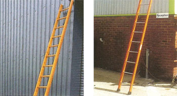Pole and Steel Ladders