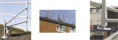 Roofing Guardrail System
