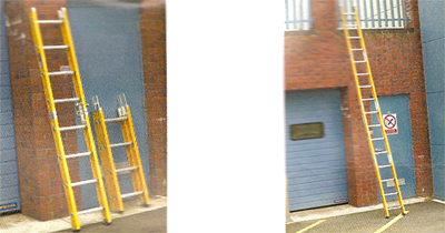 Fibre Glass Surveyors Ladders